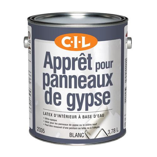 Apprêt scellant d'intérieur pour gypse C-I-L(MD), 3,78 l