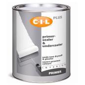 C-I-L Interior Primer-Sealer & Undercoater - Latex - 946 ml - White