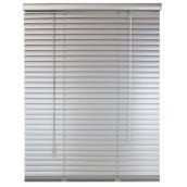 Store horizontal, lames en aluminium, 65 po x 64 po