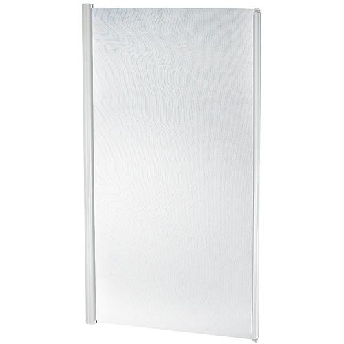 NovaVision Illusion Door Screen - Aluminum  - Retractable - White