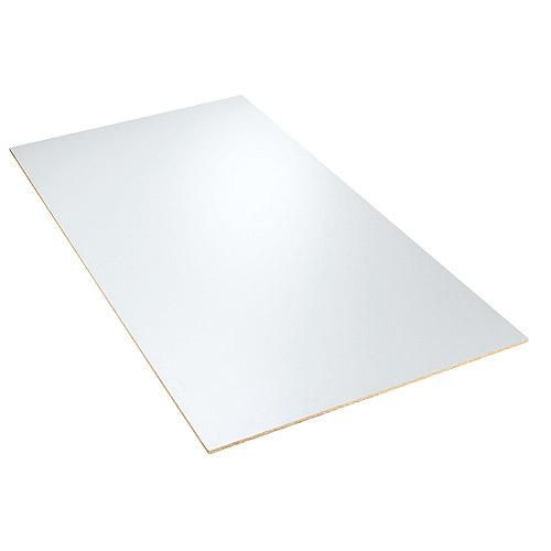 panneau de m lamine blanc 1 2 po x 49 po x 97 po rona. Black Bedroom Furniture Sets. Home Design Ideas