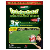 Semence enrobée Quicky Grass, 3kg