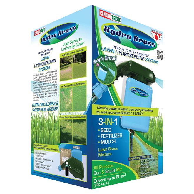 Canada Green One-Step Lawn Hydroseeding System 8217