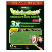 Graines d'herbe enrobées «Quicky» 1,5 kg