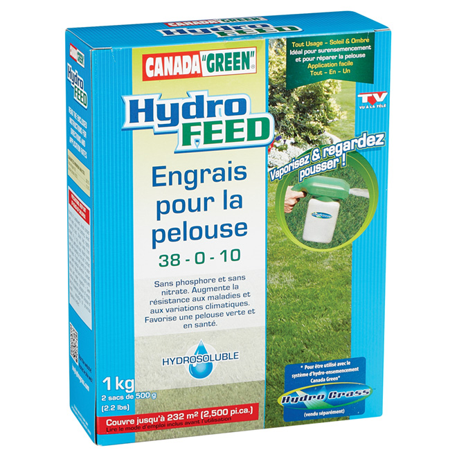 Recharge d'engrais à pelouse « Hydro Feed », 1 kg