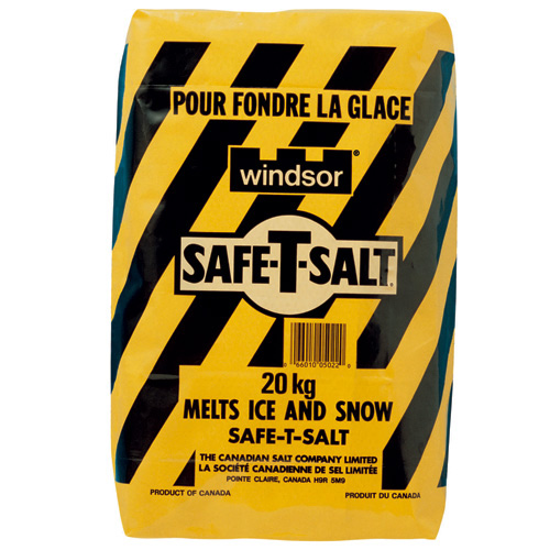 Sel de déglaçage Windsor Safe-T, 20 kg