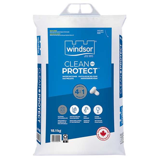 Clean and Protect Windsor Water Softener Salt -  18.1 kg