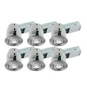 Box of 6 Recessed Fixtures