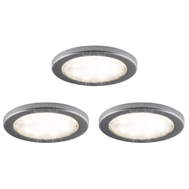 Under Cabinet LED Puck Lights - 2 1/4  - 3-Pack  sc 1 st  RONA & Under Cabinet LED Puck Lights - 2 1/4