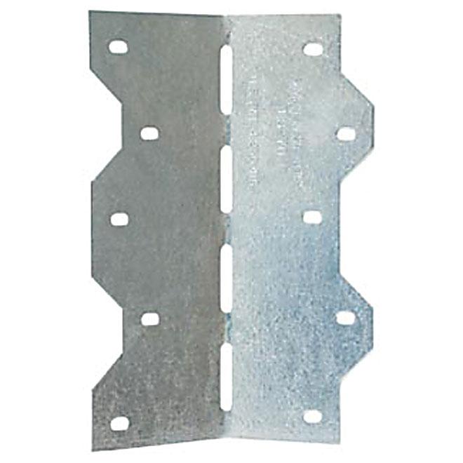 Équerre à angle ajustable 0° à 135°, 162 mm, acier galvanisé