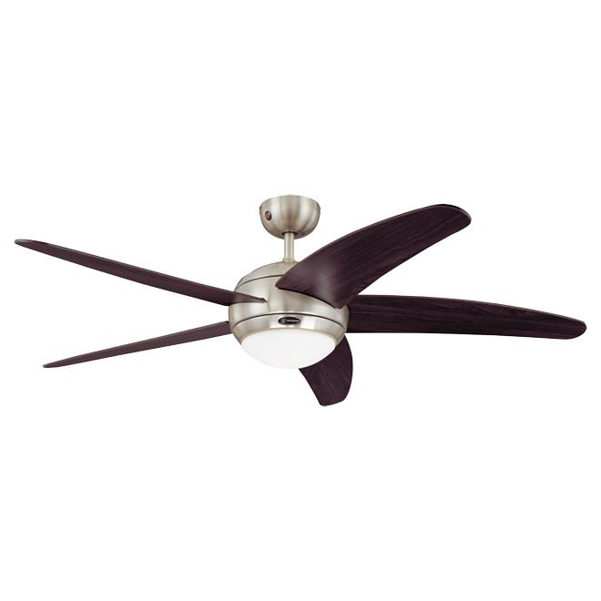 """5-Blade 3-Speed Ceiling Fan - """"Bendan"""" - 52"""""""