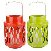 Battery-operated Outdoor Lantern - Assorted