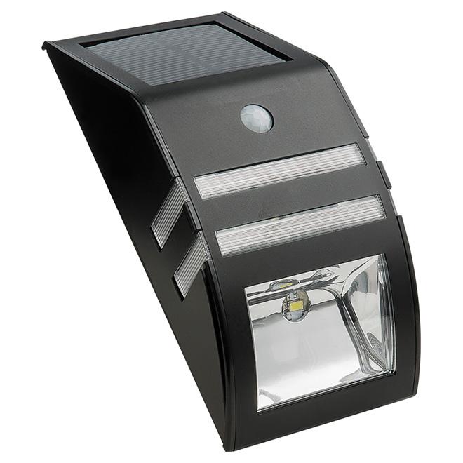 Lampe de sécurité murale à panneau solaire