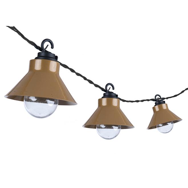 Paradise Outdoor String Light - 10 Lights - 120 V- Copper GL29650CP