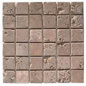 Carreaux en mosaïque pour plancher « Travertino »