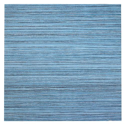 """Céramique pour plancher, 12"""" x 12"""", 15/boîte, bleu"""