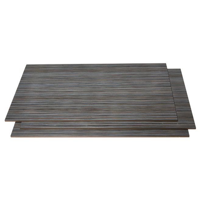 "Porcelain Tiles - 12"" x 24"" - 8/box - Black Zen"