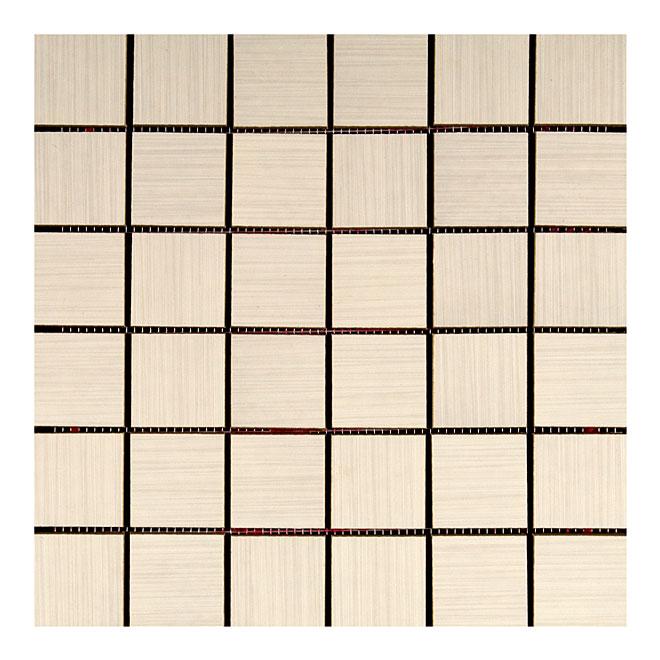Mono Serra Zen Porcelain Mosaic Frost-Resistant Tiles in White