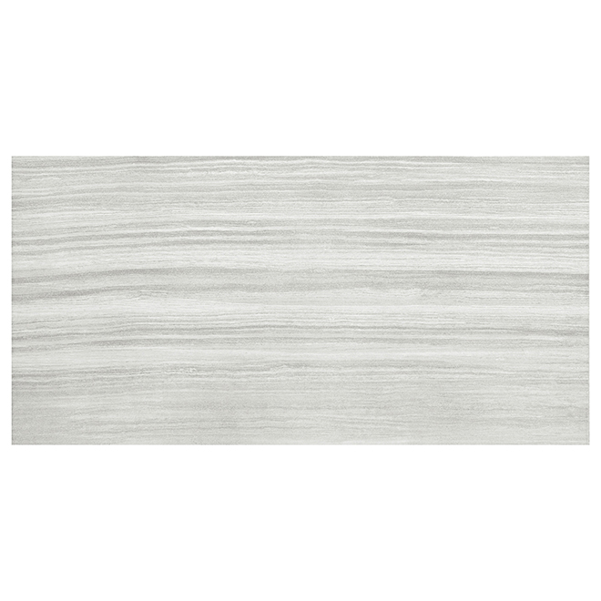 "Porcelain Tiles - 12"" x 24"" -  8/box- Light Grey"