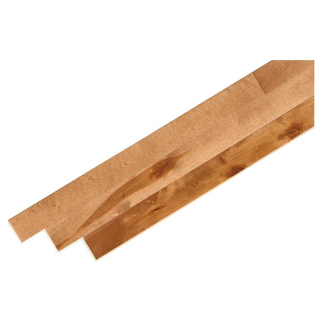 Birch Hardwood Flooring - 20 sq. ft - Caramel