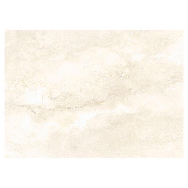 Carreaux de céramique pour plancher, 13.39 x 18.9 po, beige