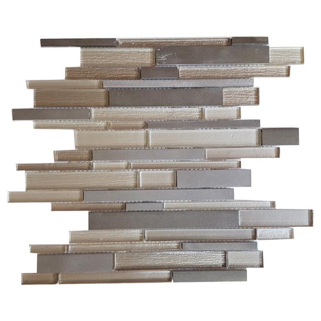 """Mosaic Glass Tile - 12"""" x 12"""" - 5 Box"""