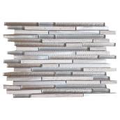 Mosaïque de verre et marbre « Tetris », 12 x 12 po, bte de 5