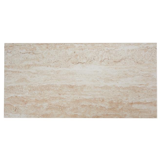 Porcelain Tiles - Wall/Floor -Travertino - 8/Box