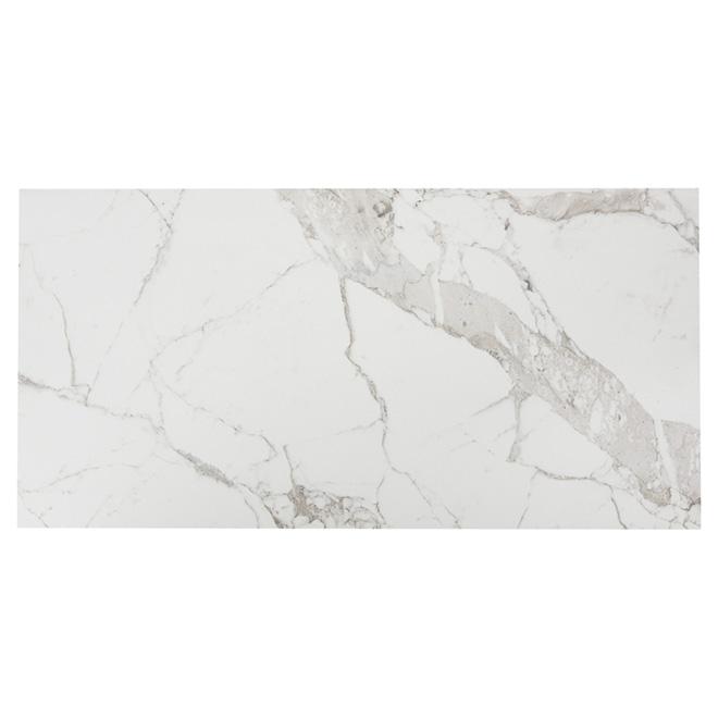Porcelain Tiles - 18'' x 36'' - Marble - 3/Box