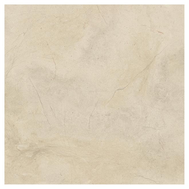 """Tuiles de porcelaine pour plancher, 24"""" x 24"""", beige"""