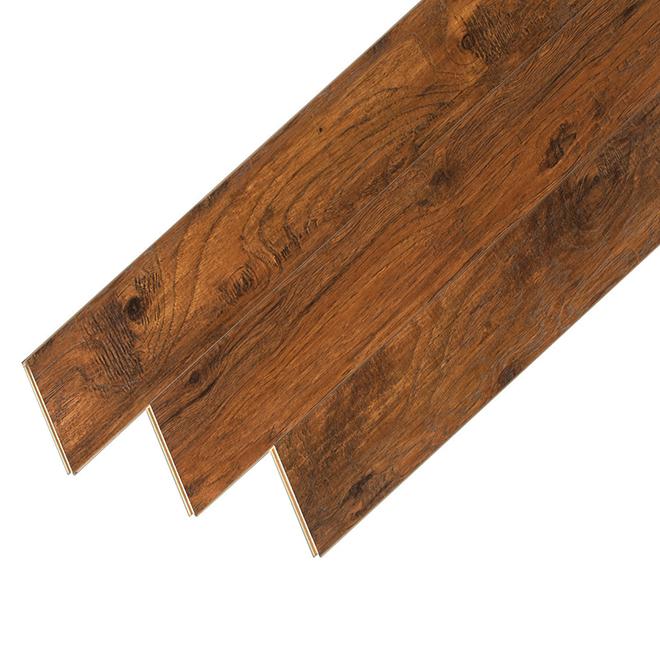 Mono Serra Laminate Flooring Hdf 12 Mm Brown 35484 Rona