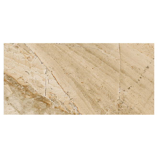 "Denver Porcelain Tiles 12"" x 24"" - Beige - 8/box"