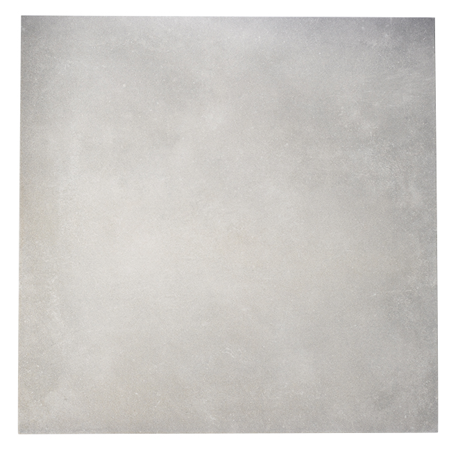 "Porcelain Tiles - 24"" x 24"" - 4/Box - Light Grey"