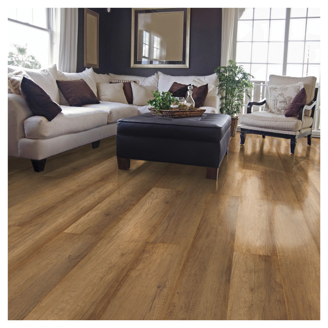 Laminate Flooring 12 mm - Labrador - Brown
