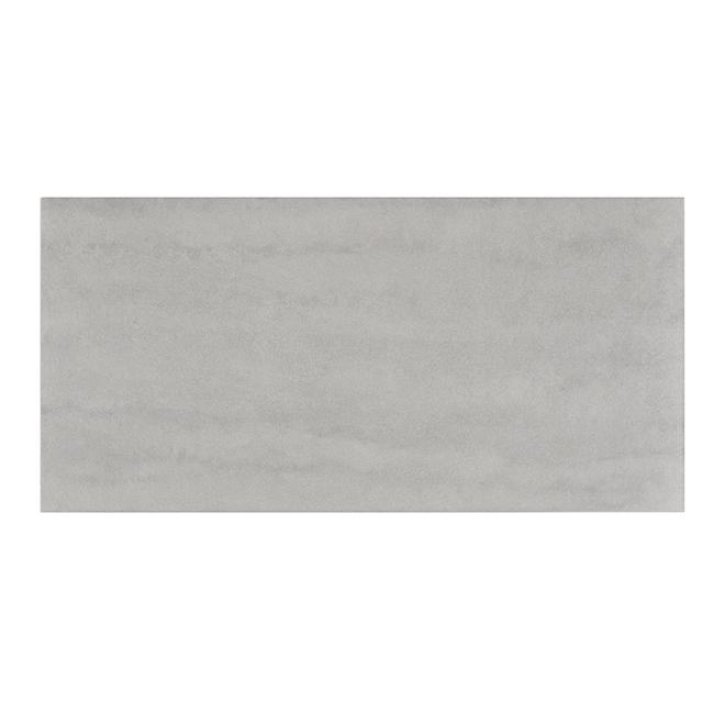 "Porcelain Tiles - 12"" x 24"" - 8/box- Light Grey"