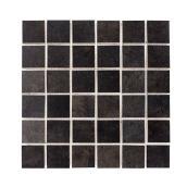 """Tuiles mosaïques, 12"""" x 12"""", 5/boite, noir"""