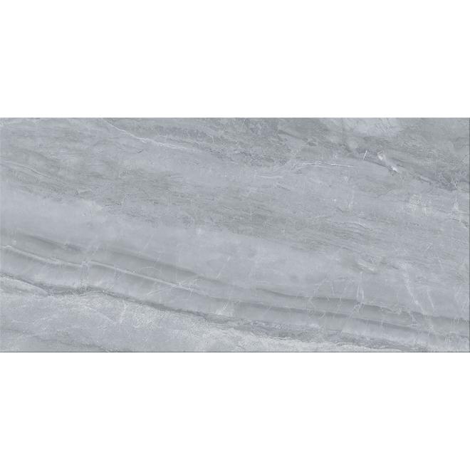Orobico Silver Porcelain Tiles - 12 x 24