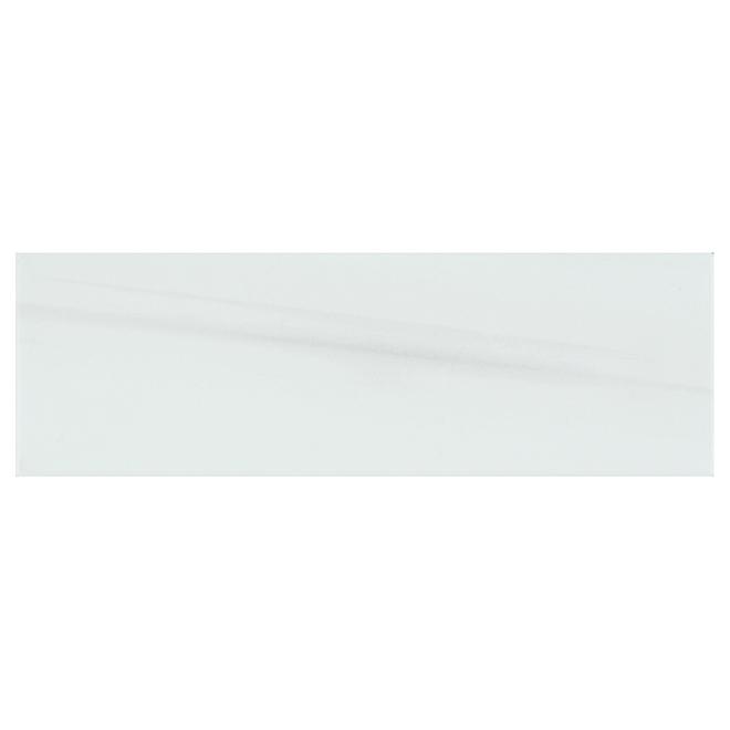 "Onice Bianco Porcelain Tiles - 4"" x 12"" - 42/Box - Grey"