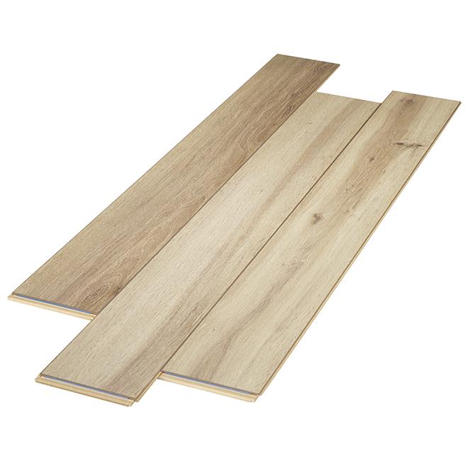 Plancher stratifié AC3 en HDF, 12 mm, sable