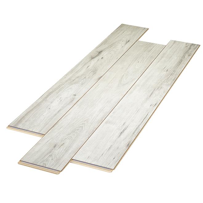 Plancher stratifié AC3 en HDF, 12 mm, glacier