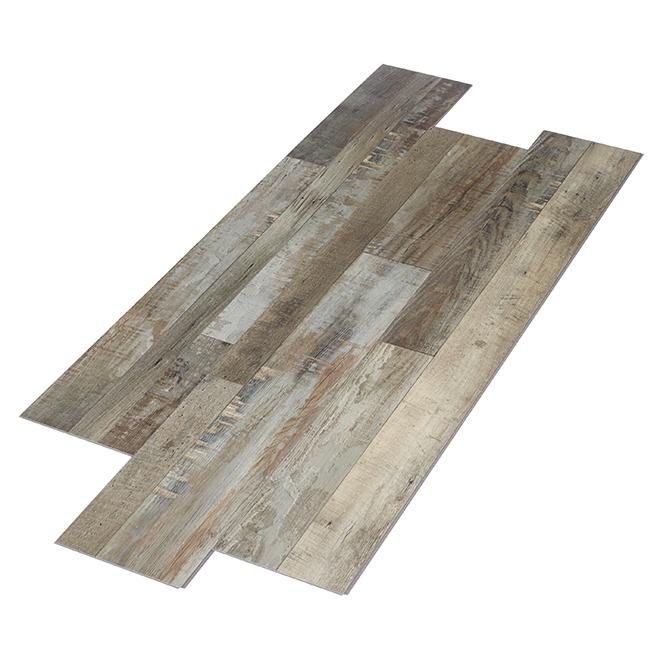 Mono Serra Vinyl Floor Tiles - Beige Grey - 23.93 sq. ft.