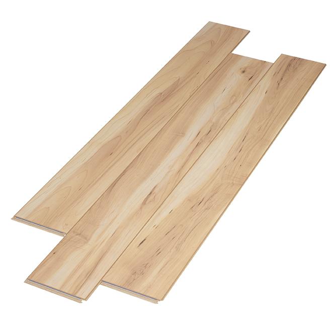 Plancher stratifié, 8mm, 22,14 pi²/boîte, érable beige