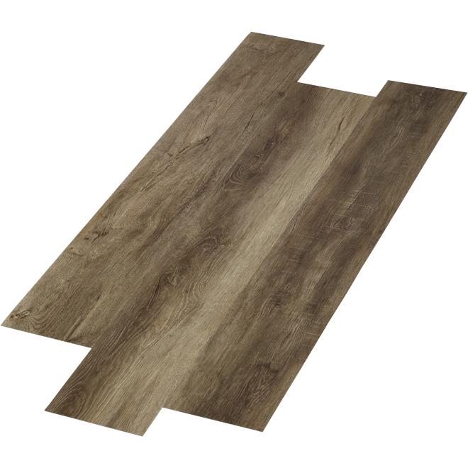 """Lattes de plancher en composite, 6"""" x 48"""", 28,38 pi², brun"""