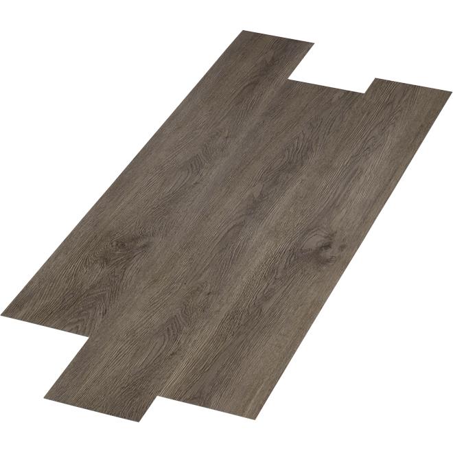 """Lattes de plancher en composite, 6"""" x 48"""", 28,38 pi², gris"""