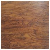 Plancher stratifié 10 mm, 21,7 pi², brun