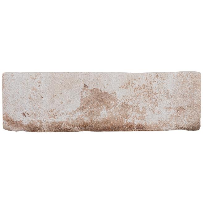"""Tuile de porcelaine Mono Serra, brique, 3"""" x 10"""", rouille"""