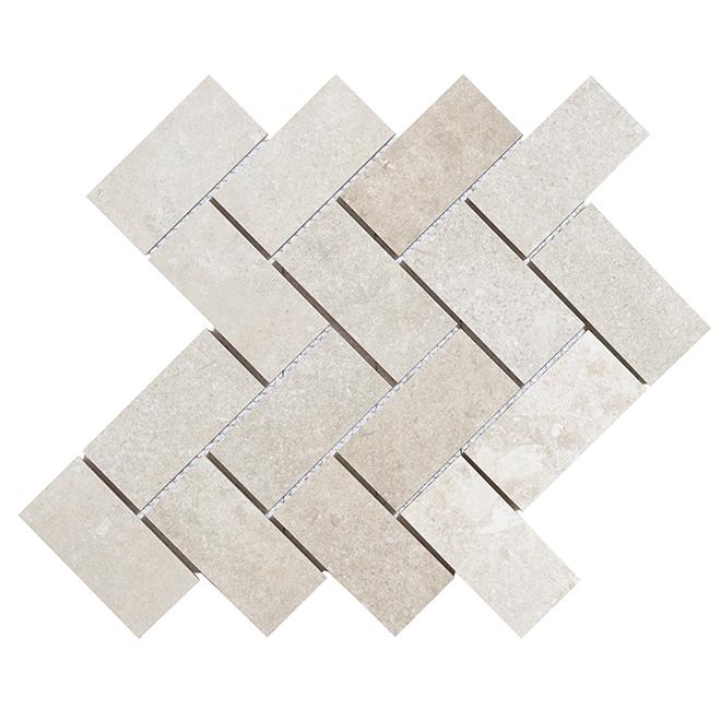 Porcelain Mosaic - Arcadia - Grey - Box of 5 9006HE