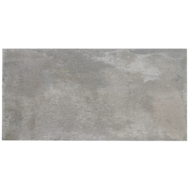"Rectangle Porcelain Tiles - 16"" X 32"" - Grey - Box of 3"
