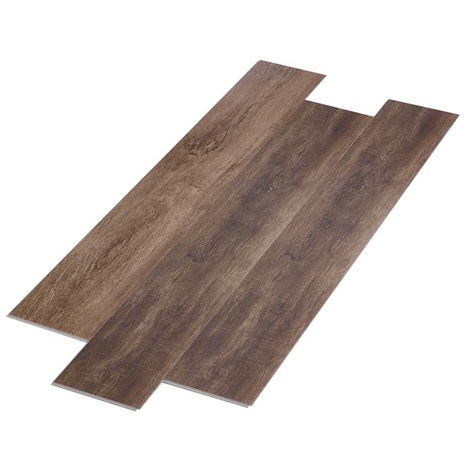 Plancher SPC, « Montana », 26,29 pi²/boîte, brun