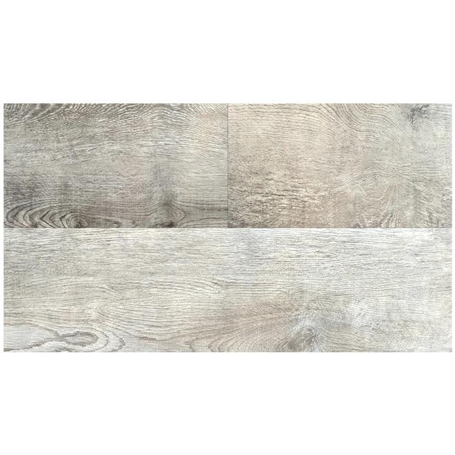 Mono Serra Vinyl Floor Plank - 4.2 mm - 28.38 sq. ft. - Light Grey SPC-406